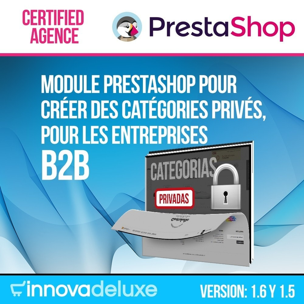 module - B2B - Catégories privées pour le commerce B2B - 1