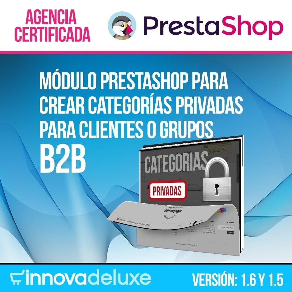 module - B2B - Categorías privadas para negocios b2b - 1