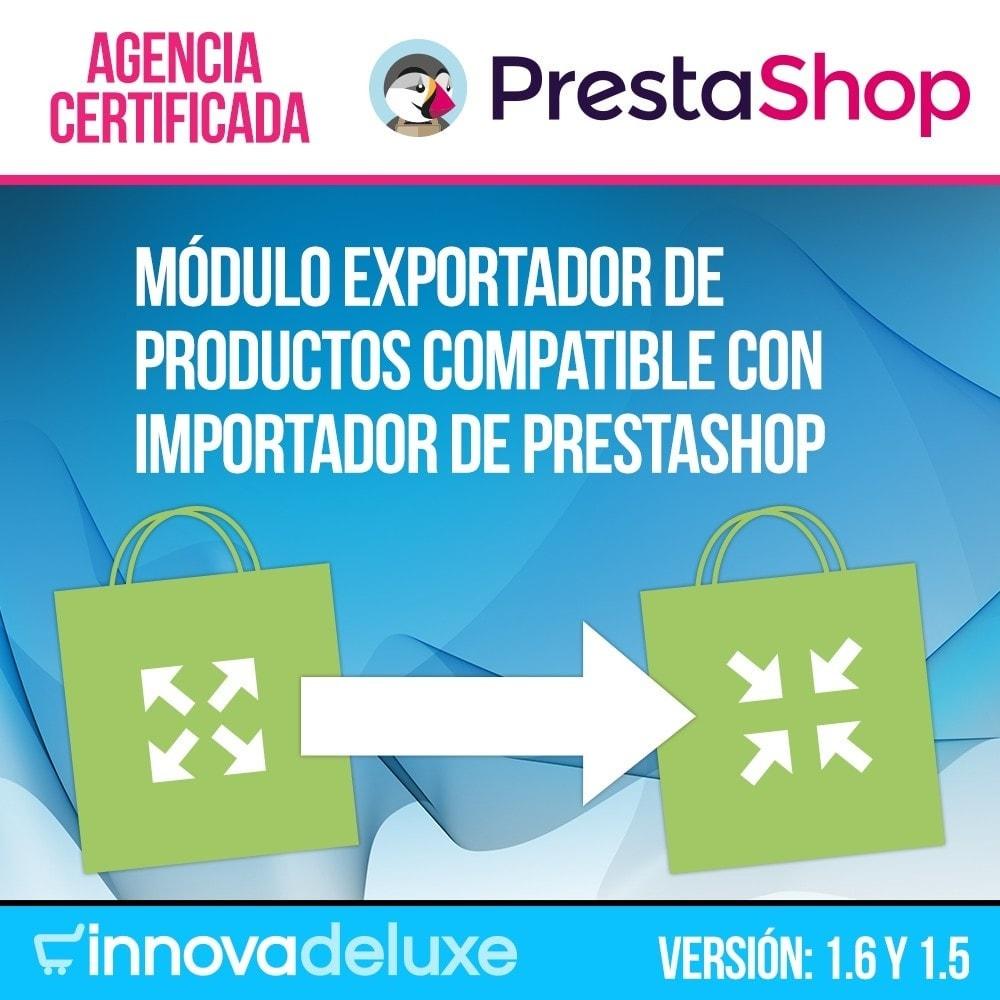 module - Importación y Exportación de datos - Exportador de productos para importador oficial - 1
