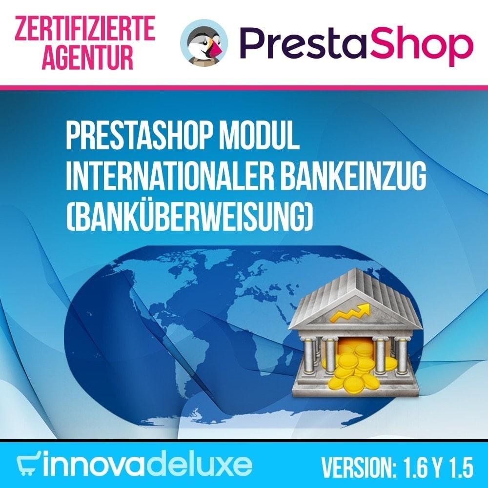 module - Zahlung per Überweisung - Internationaler Bankeinzug (Banküberweisung) - 1