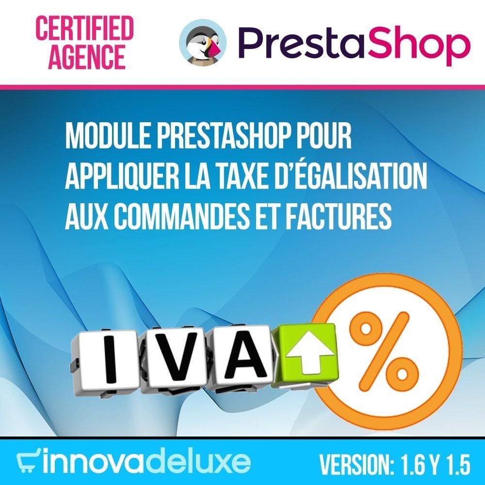 module - B2B - Appliquer Taxe d'égalisation aux commandes et factures - 1