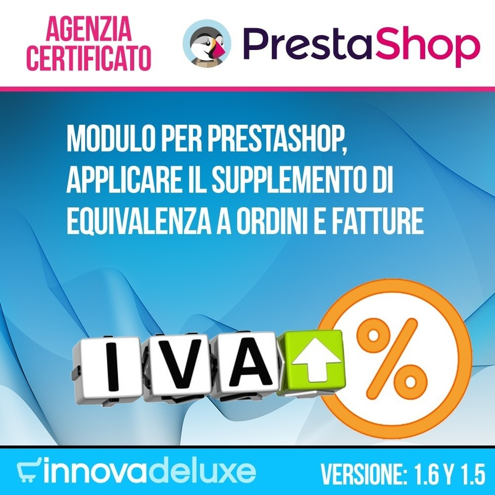 module - B2B - Applicare supplemento di equivalenza a ordini/fatture - 1