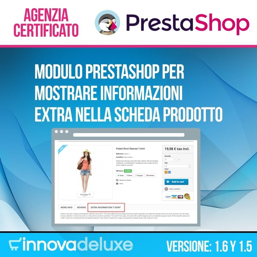 module - Altre informazioni & Product Tab - Tab con informazione extra nella scheda prodotto - 1