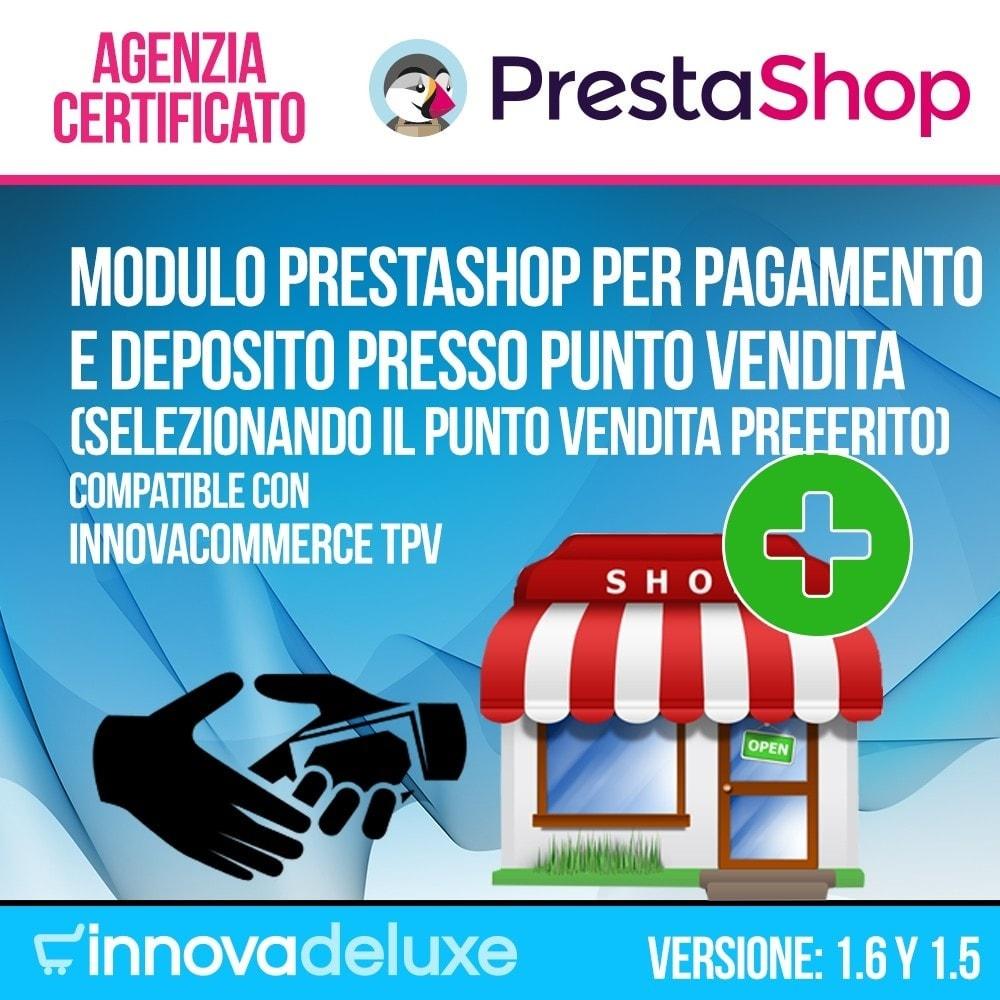 module - Pagamento in Negozio Fisico - Pagamento nel tuo negozio fisico (catena di negozi) - 1