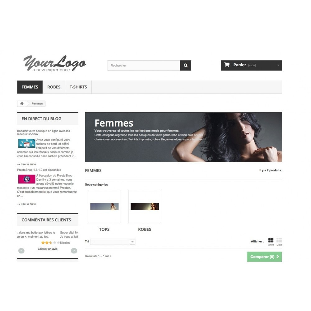 module - Blog, Forum & Actualités - Easy Blog - 2