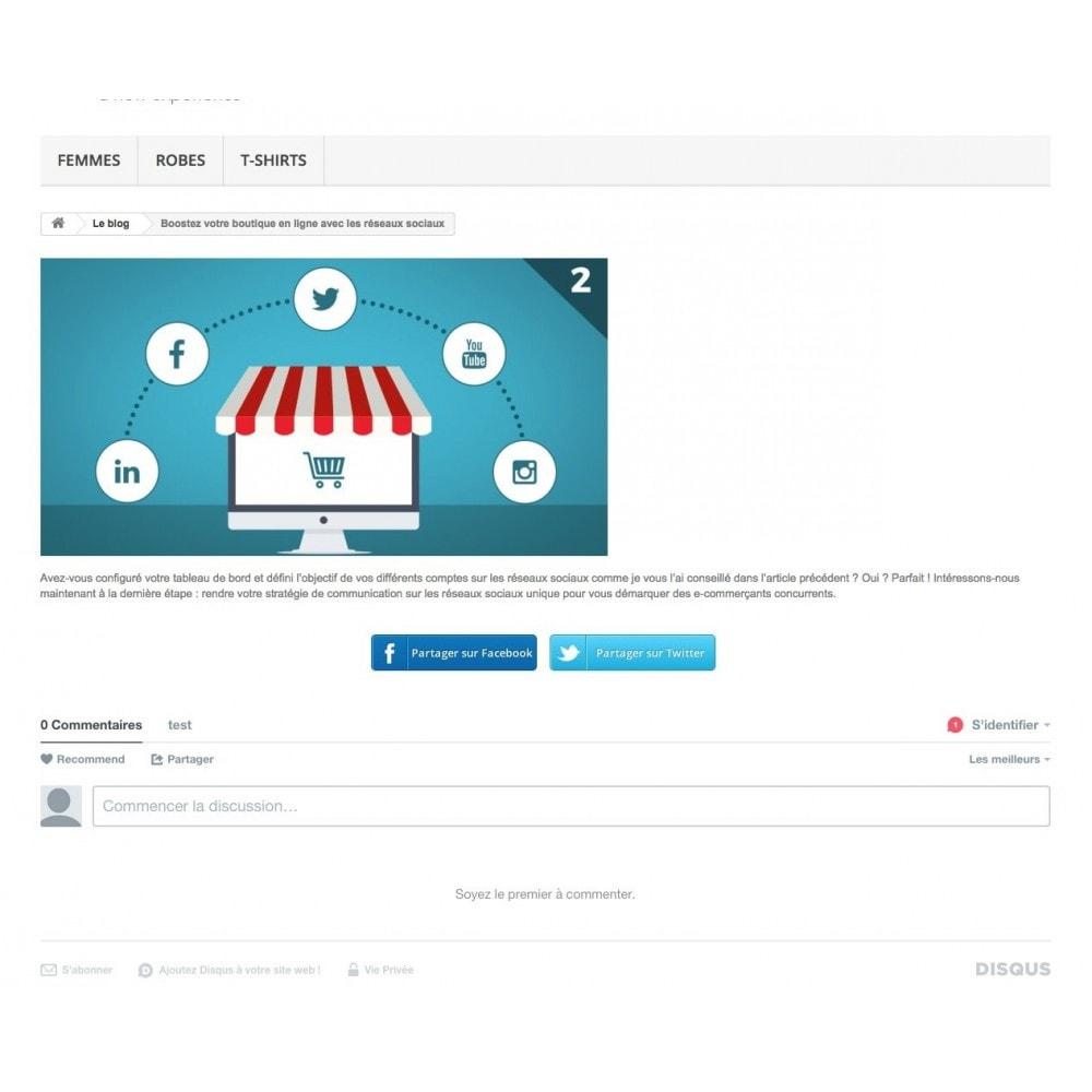module - Blog, Forum & Actualités - Easy Blog - 3