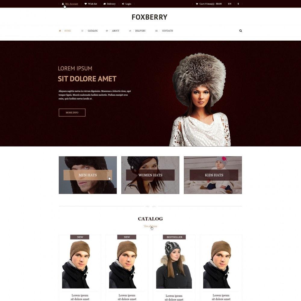 theme - Mode & Chaussures - Foxberry - Chapeaux de Magasin - 2