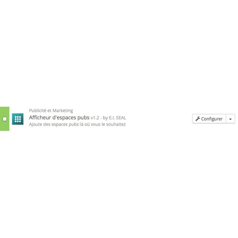 module - Référencement payant (SEA SEM) & Affiliation - Afficheur d'espaces pubs / AdsWhereYouWant - 10