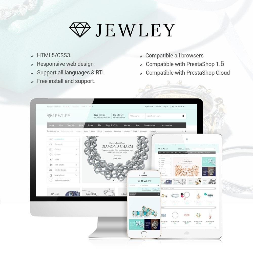theme - Bellezza & Gioielli - Jewely - Jewelry Store Responsive PrestaShop - 1