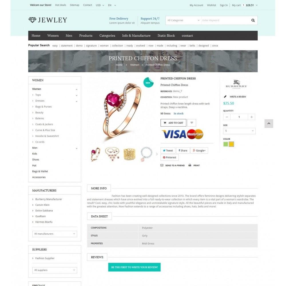 theme - Bellezza & Gioielli - Jewely - Jewelry Store Responsive PrestaShop - 5