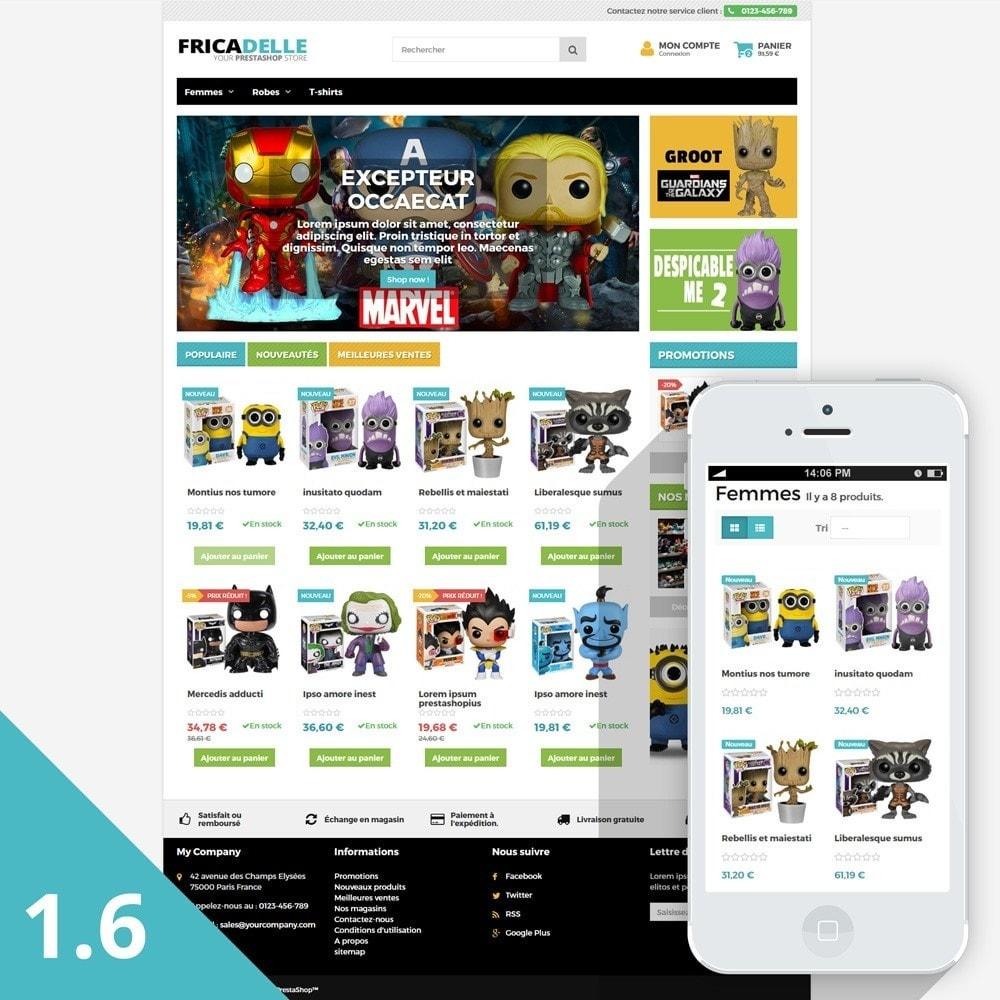 theme - Zabawki & Artykuły dziecięce - Fricadelle Responsive - 2