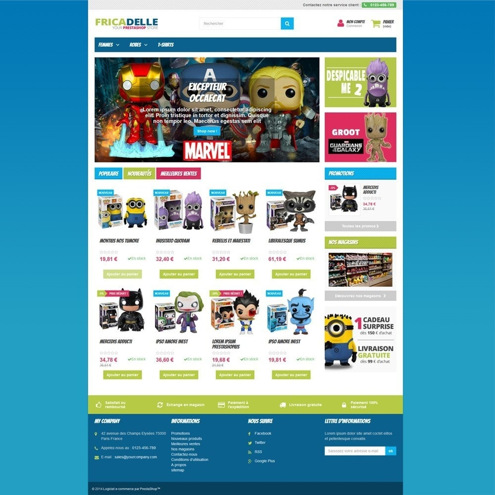 theme - Kids & Toys - Fricadelle Responsive - 3