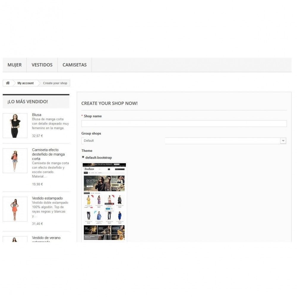 module - Creazione Marketplace - Multishop Marketplace - 2