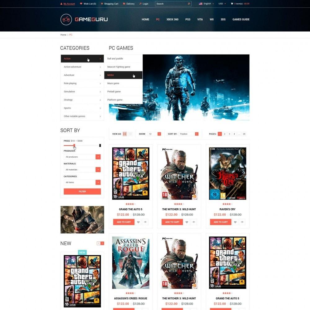 theme - Eletrônicos & High Tech - GameGuru - Jogar Jogos Loja - 3