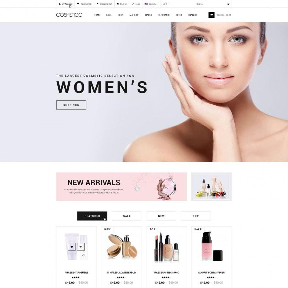 theme - Salud y Belleza - Cosmetico - Tienda de Cosméticos - 1