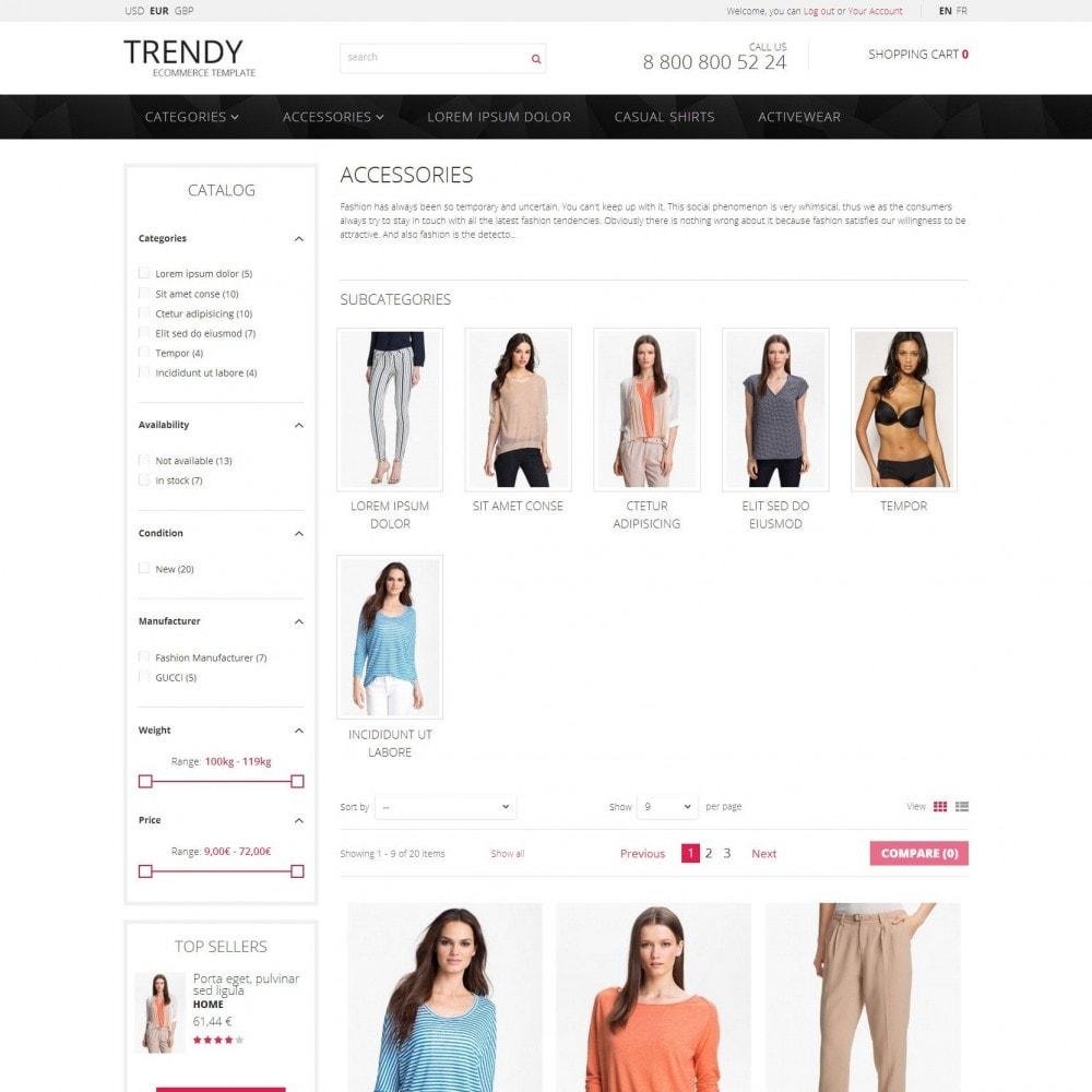 theme - Moda & Calzature - Trendy - Negozio di Moda Abiti Sale - 3