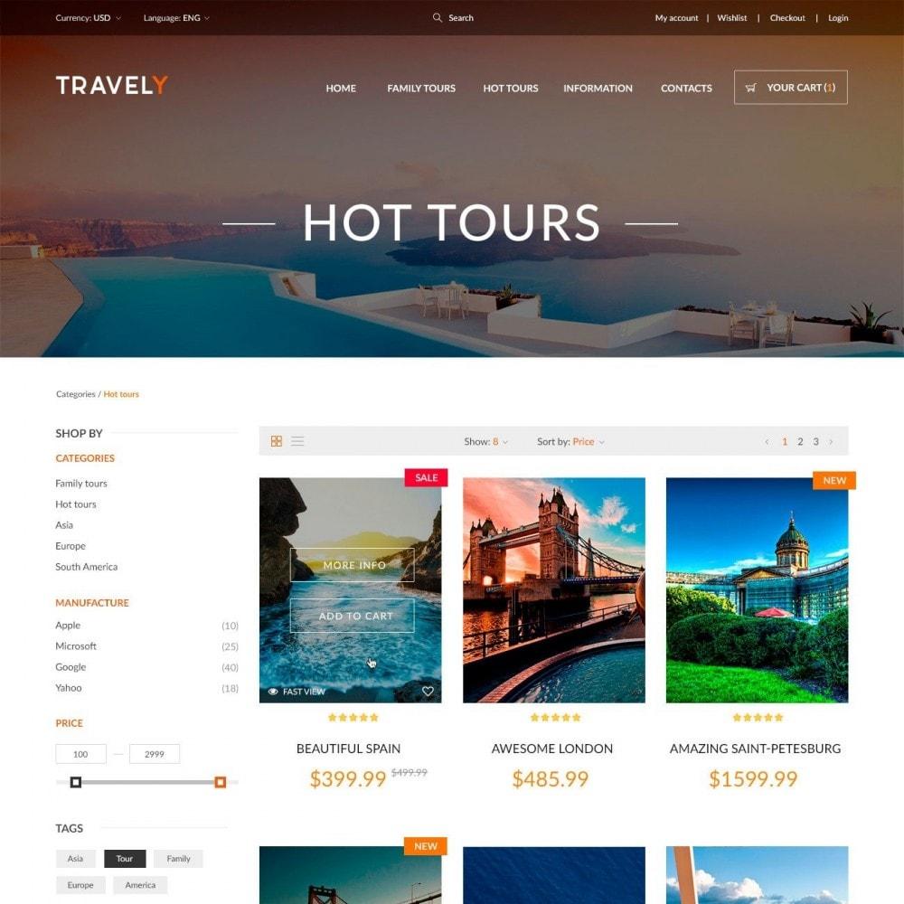 theme - Sport, Attività & Viaggi - Travely - Negozio di Viaggio - 3