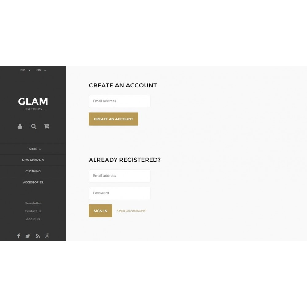 theme - Mode & Schuhe - Glam Prestashop 1.6 Responsive Template - 11
