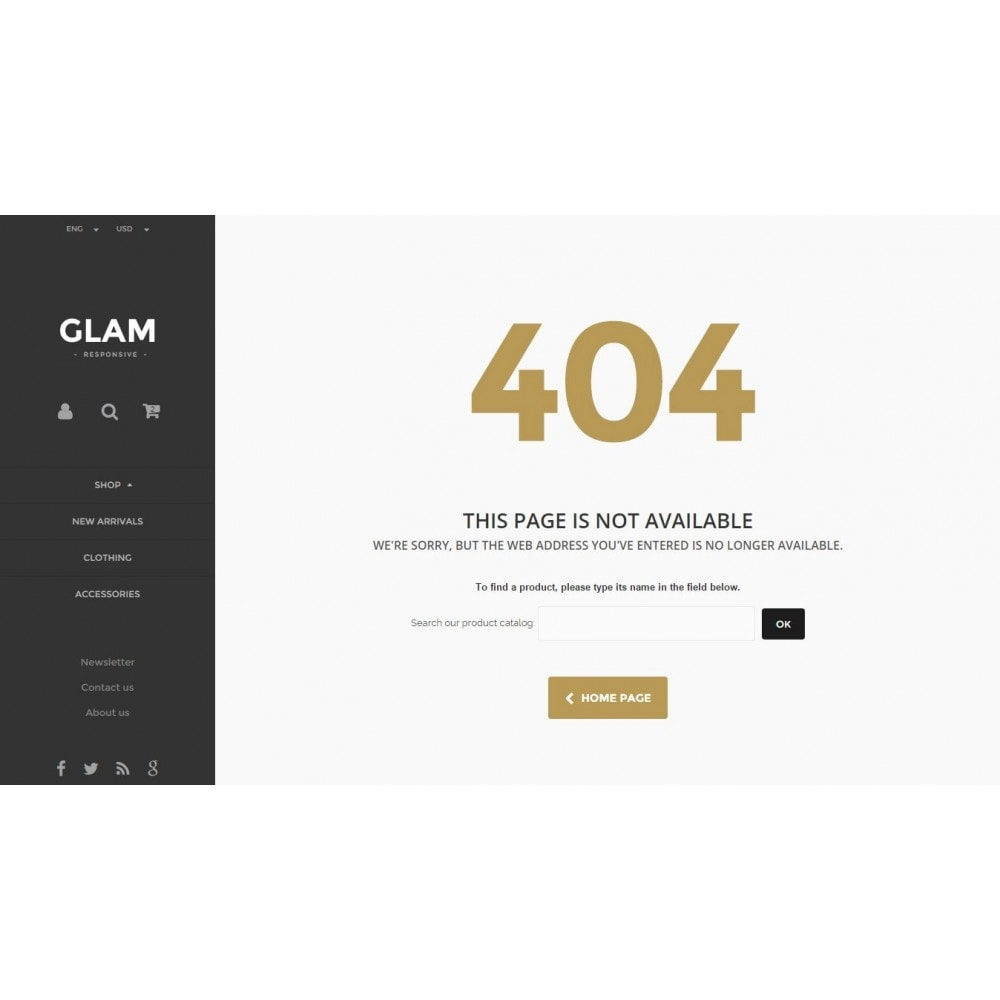 theme - Fashion & Shoes - Glam Prestashop 1.6 Responsive Template - 16