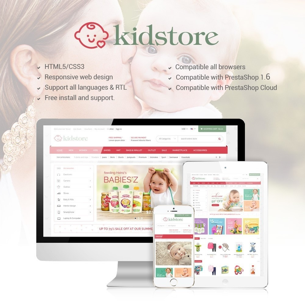 theme - Enfants & Jouets - Kidstore - Kids & Children Store - 1