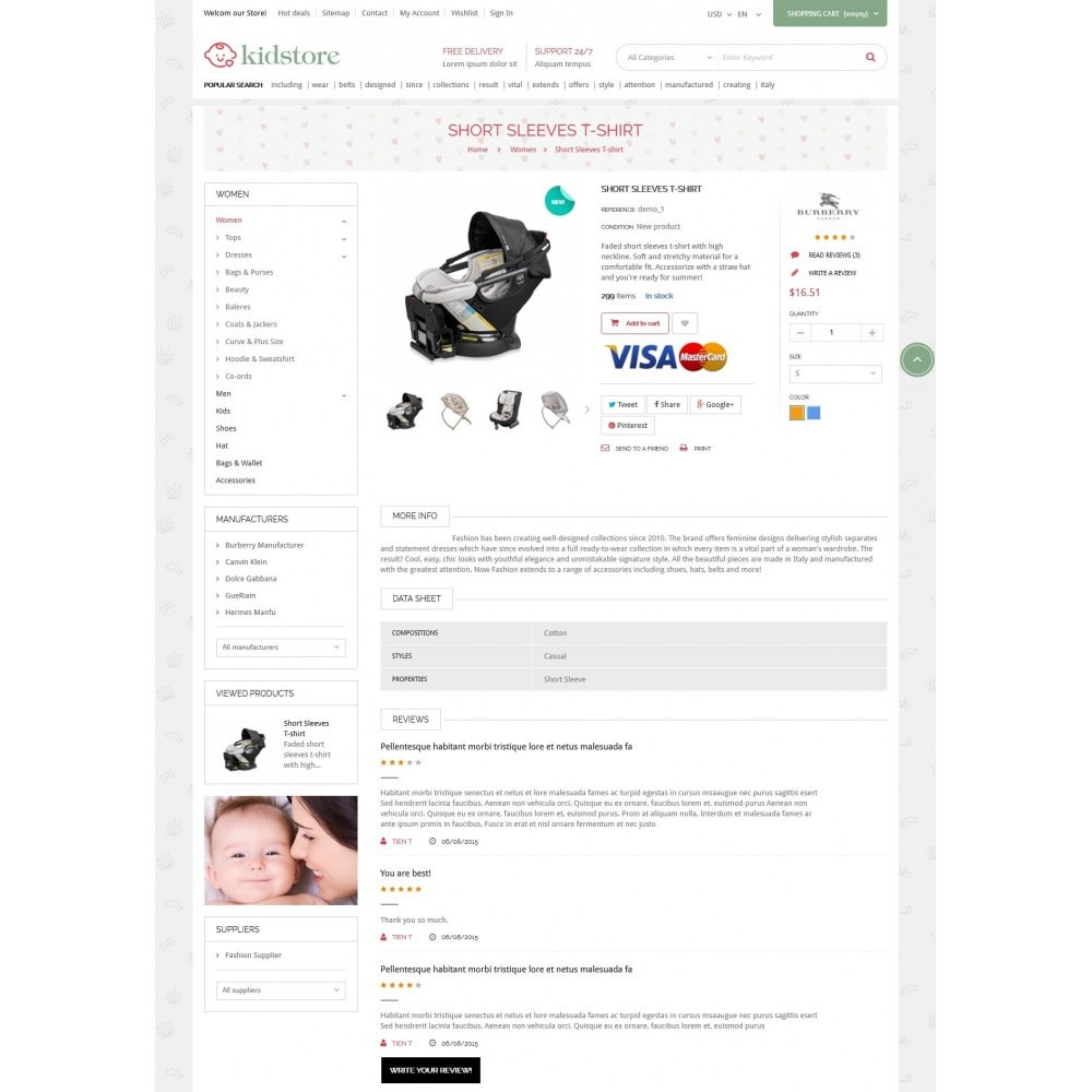 theme - Bambini & Giocattoli - Kidstore - Kids & Children Store - 5