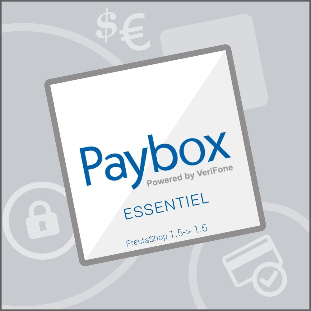 module - Creditcardbetaling of Walletbetaling - Verifone E-commerce (Paybox Essential) - 1.5, 1.6 & 1.7 - 1