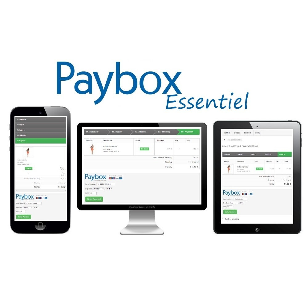 module - Creditcardbetaling of Walletbetaling - Verifone E-commerce (Paybox Essential) - 1.5, 1.6 & 1.7 - 2