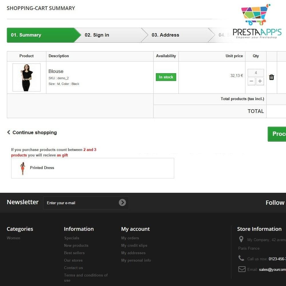 module - Promoções & Brindes - Next Level Voucher - 9
