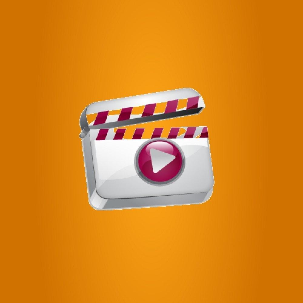module - Vidéo & Musique - Afficheur vidéo (Youtube, Dailymotion, Vimeo...) - 1