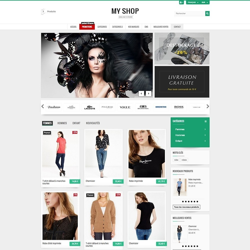 theme - Mode & Schoenen - MY SHOP - 2