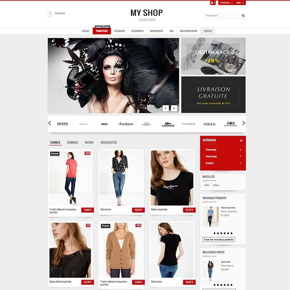 theme - Mode & Chaussures - MY SHOP - 4