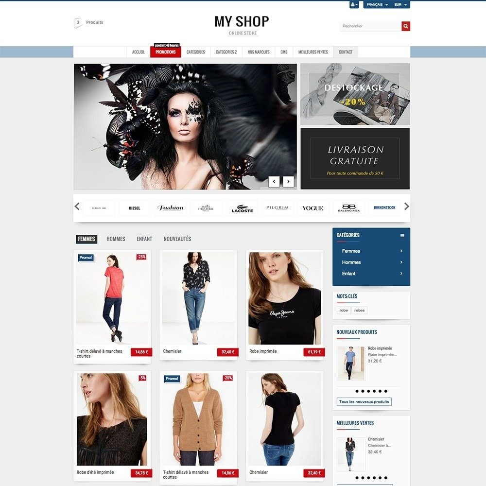 theme - Mode & Chaussures - MY SHOP - 5