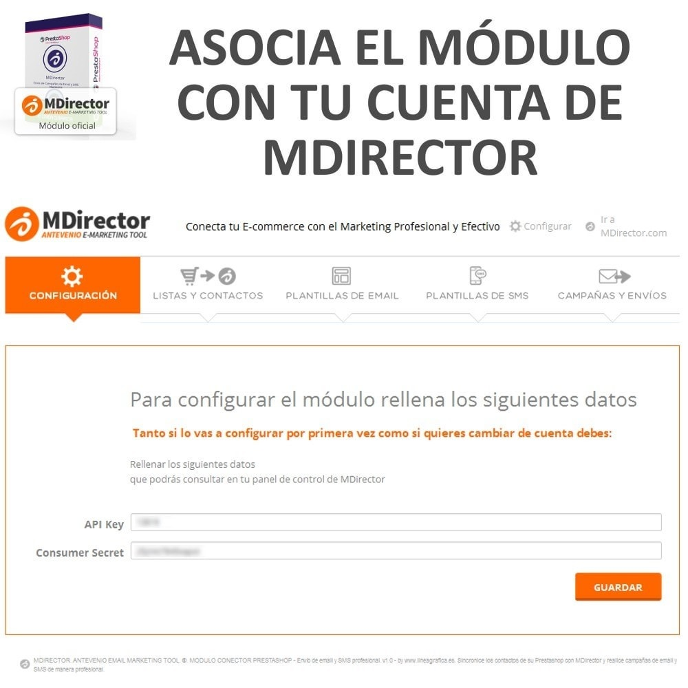 module - Newsletter & SMS - MDirector - SMS and Email Marketing Campaigns - 2