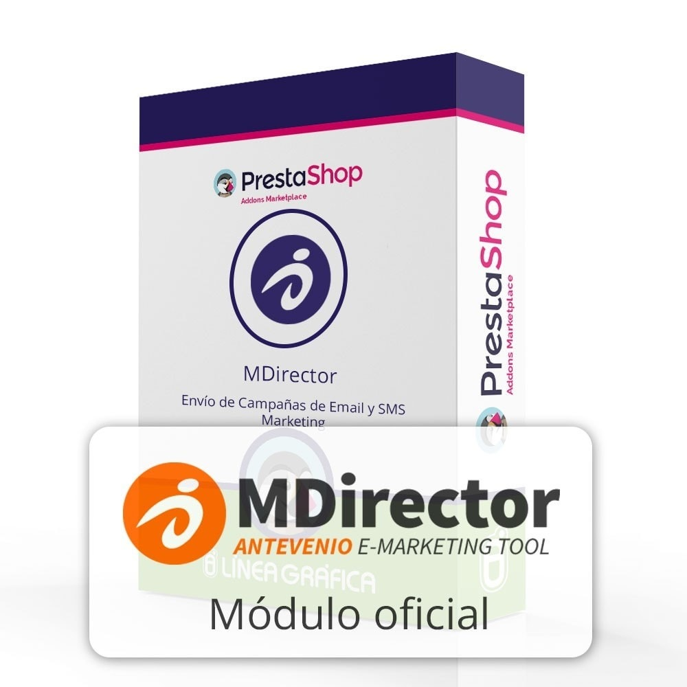 module - Newsletter y SMS - MDirector - Envío de Campañas de Email y SMS Marketing - 1