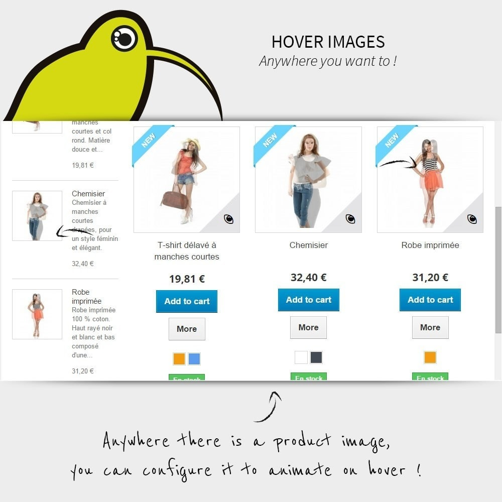 module - Visual Products - Hover Images | Rollover - 3