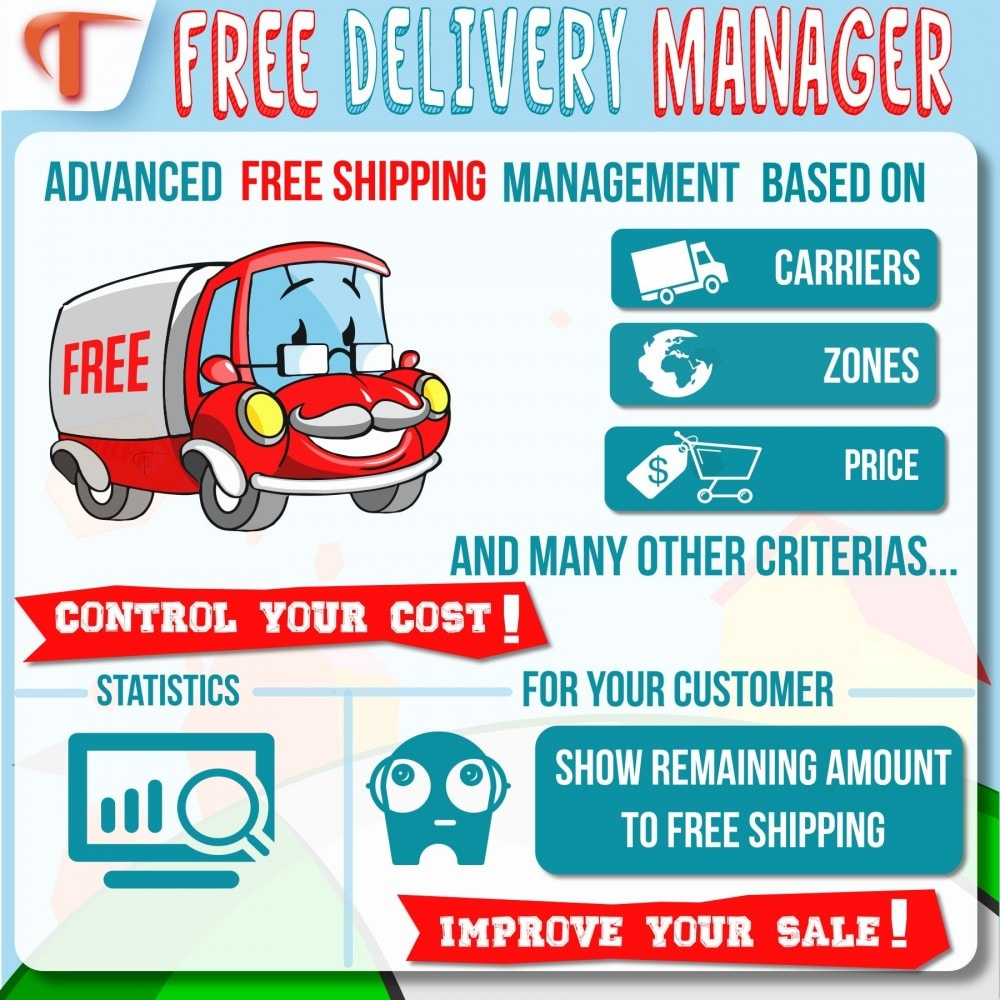 module - Shipping Costs - Free Delivery Manager - 2