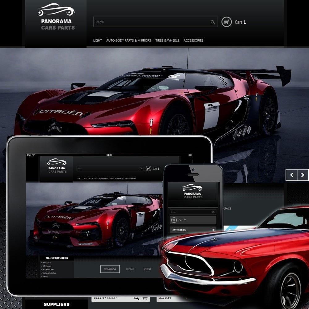 theme - Automotive & Cars - Panorama 1.0 - 1