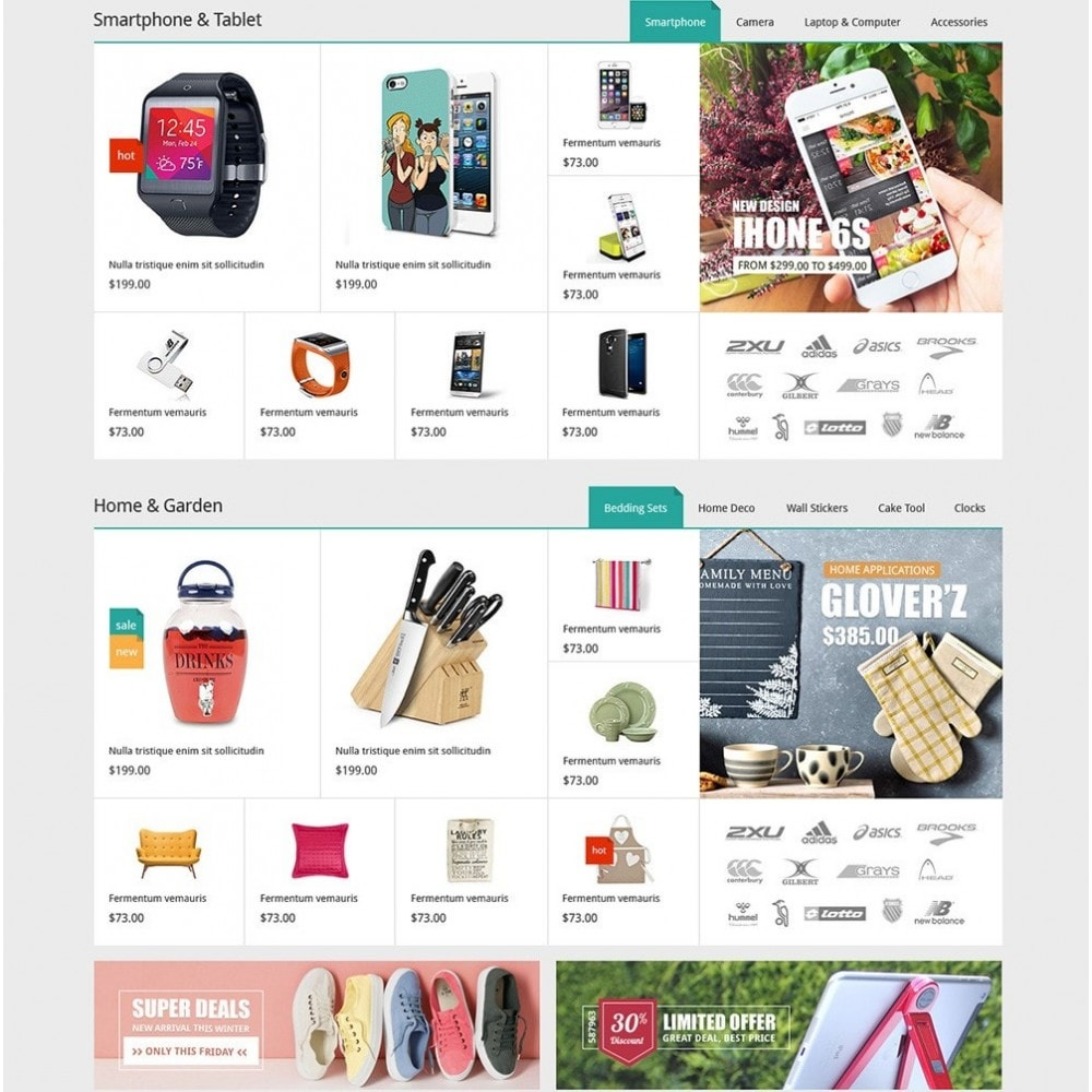 theme - Moda & Obuwie - DealMarket- Fashion Store Responsive PrestaShop Theme - 4