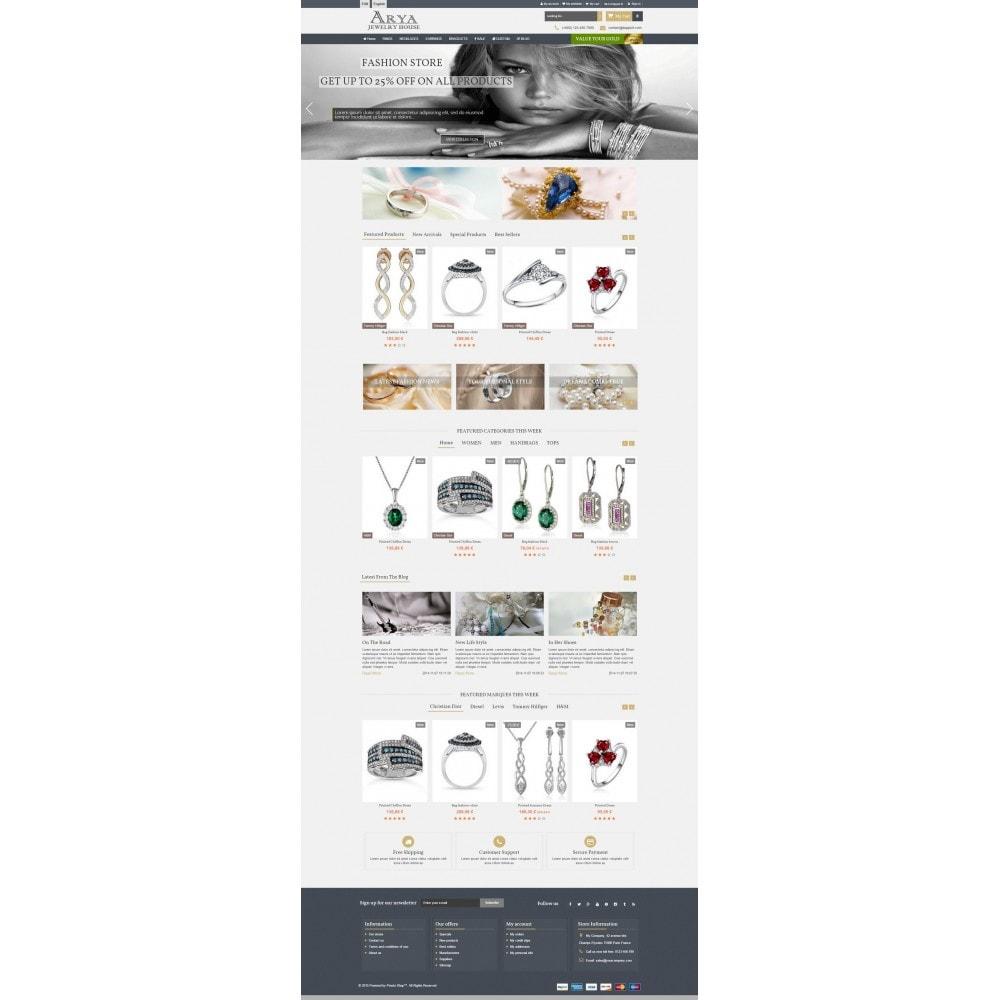 theme - Biżuteria & Akcesoria - Arya Responsive 1.6 - 2