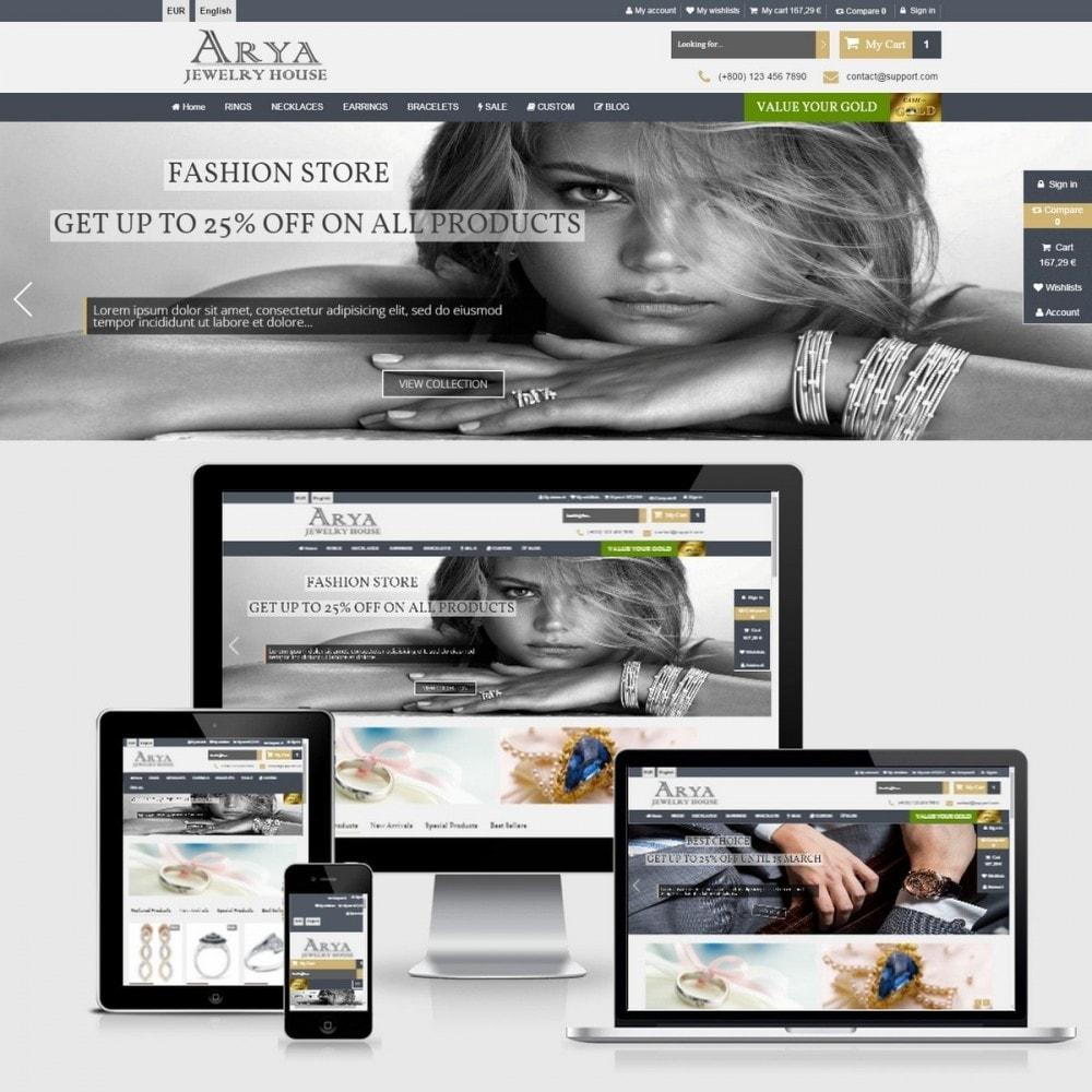 theme - Bijoux & Accessoires - Arya Responsive 1.6 - 2