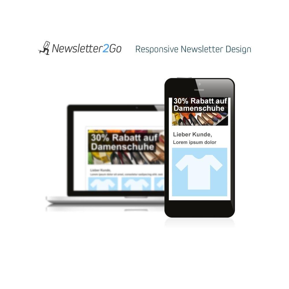 module - Newsletter & SMS - Newsletter2Go - 4