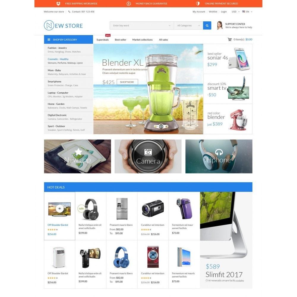 theme - Electrónica e High Tech - ExtraStore - Houseware Electronic - 2