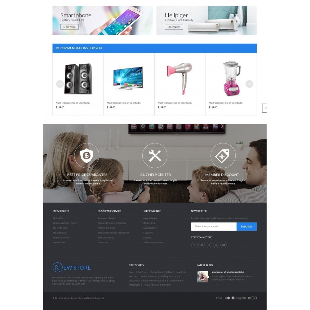 theme - Elektronik & High Tech - ExtraStore - Houseware Responsive PrestaShop Theme - 4