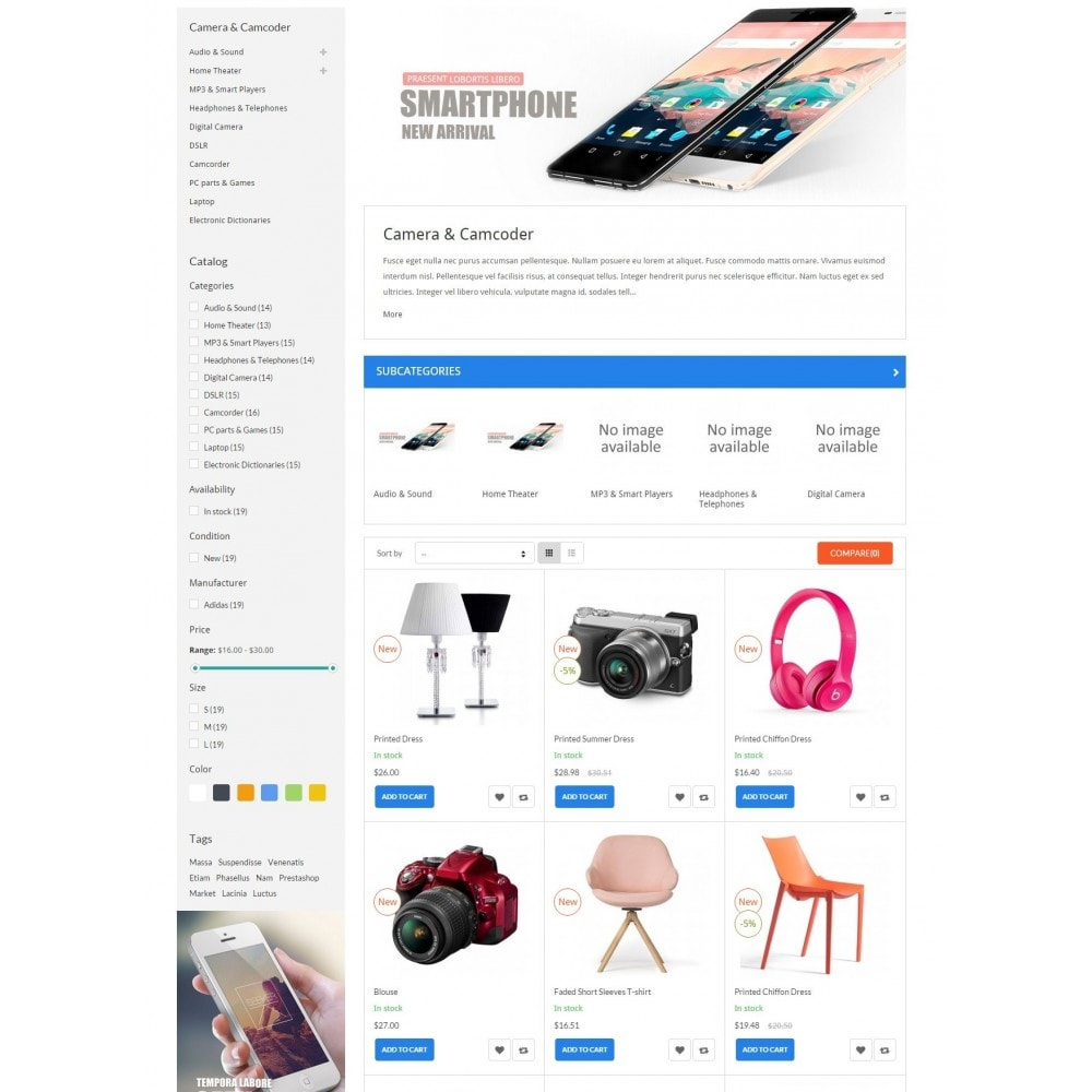theme - Elektronik & High Tech - ExtraStore - Houseware Responsive PrestaShop Theme - 5