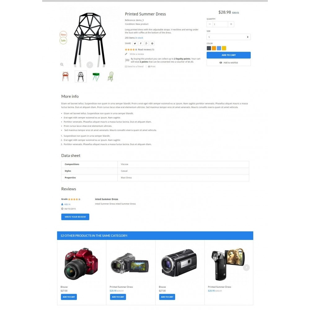 theme - Elektronik & High Tech - ExtraStore - Houseware Responsive PrestaShop Theme - 6