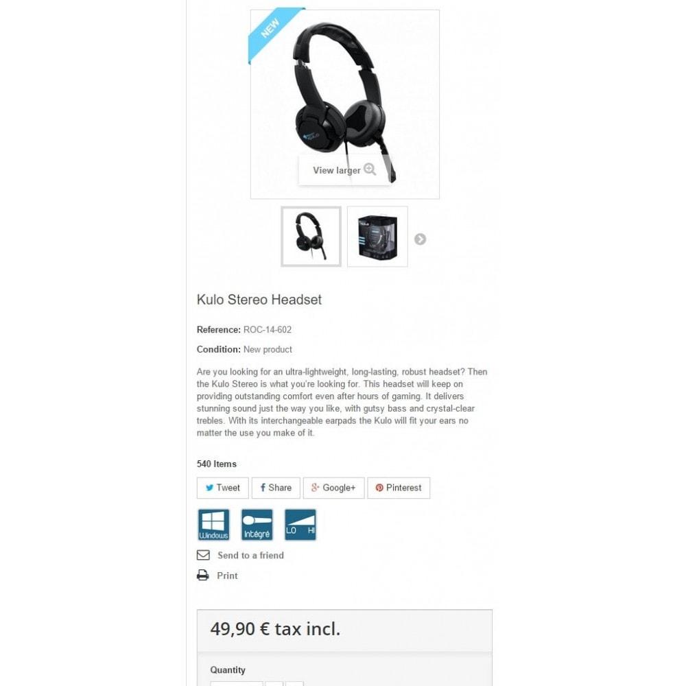 module - Etiquettes & Logos - Pure Pictogrammes Produits - 4