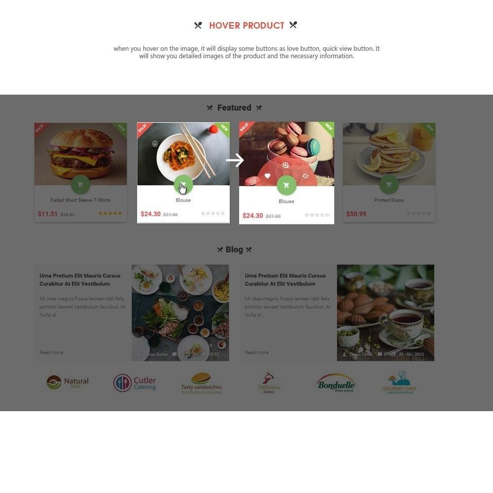 theme - Alimentation & Restauration - Leo Pizza - 3
