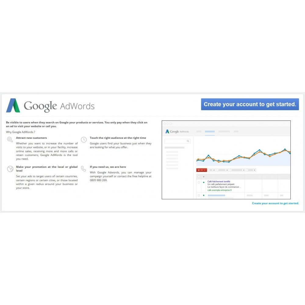bundle - Analizy & Statystyki - Pack Google : Adwords + Adsense + Customer Reviews - 1