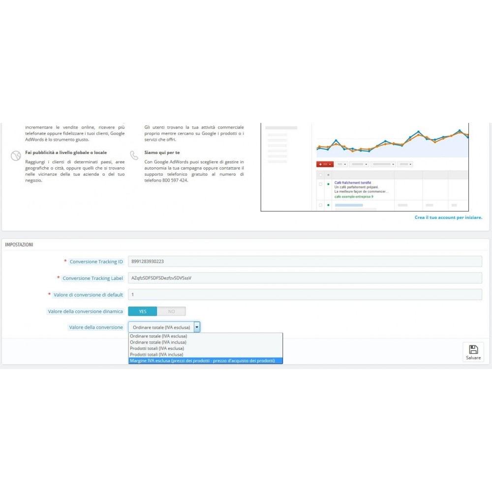 module - Indicizzazione a pagamento (SEA SEM) & Affiliazione - Google Adwords Conversioni - 3