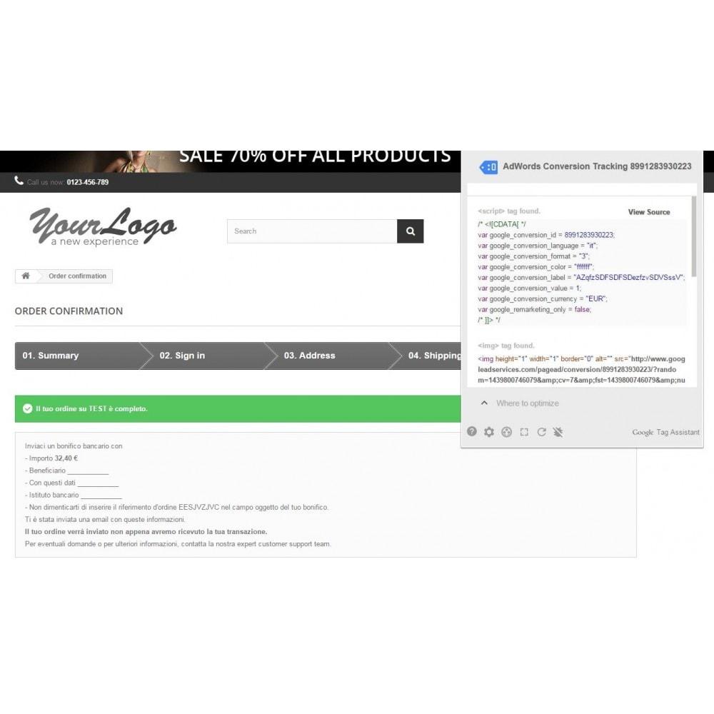 module - Indicizzazione a pagamento (SEA SEM) & Affiliazione - Google Adwords Conversioni - 4